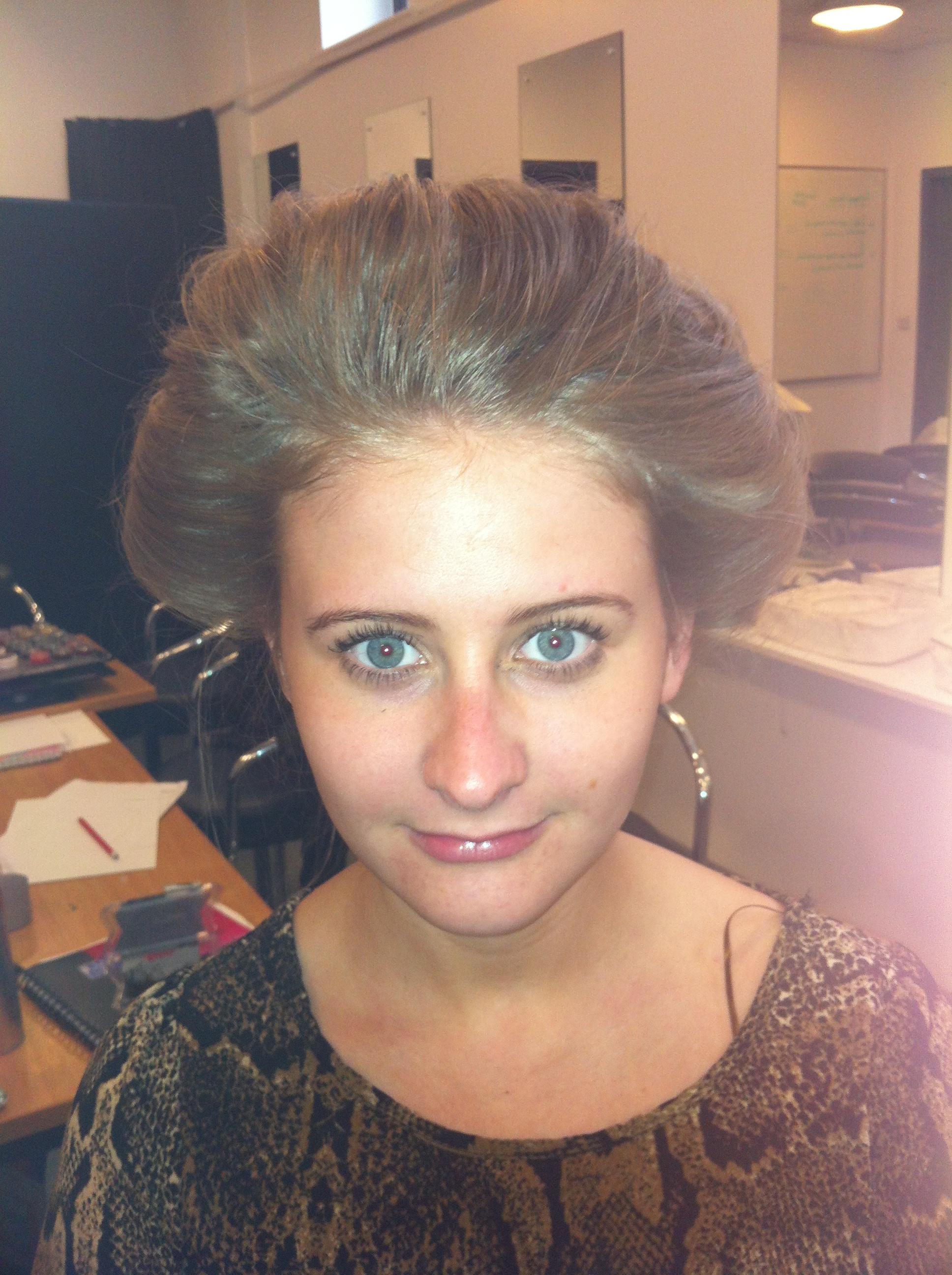 Practising Edwardian hairstyles | Jamie Roscoe Makeup Blog